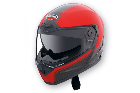 Casque Caberg V2X CARBON EDGE Black/Red