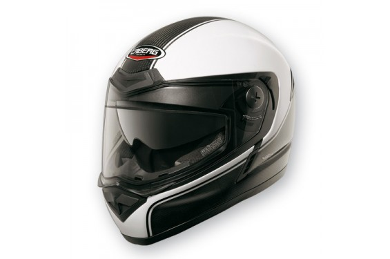 Casque Caberg V2X CARBON EDGE Black/White