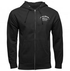Sweat-Shirt Zippé à Capuche THOR HALLMAN DEPT. 2021 Noir
