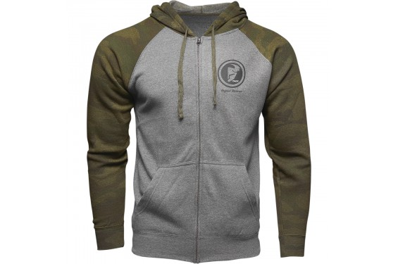 Sweat-Shirt Zippé à Capuche THOR TARGET 2021