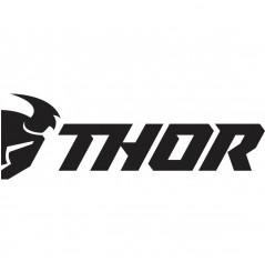 """Pack 6 Stickers THOR Noir & Blanc 9"""" pour Moto & Quad"""