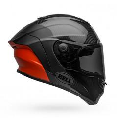Casque Moto BELL RACE STAR DLX LUX Noir - Rouge 2021