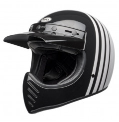 Casque Moto Cross BELL MOTO-3 REVERB Noir - Blanc 2021