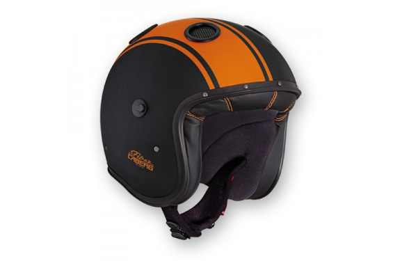 Casque Caberg DOOM LEGEND Matt Black/Orange