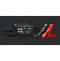 Chargeur de Batterie Moto Intelligent NOCO Genius 2 6-12V 2A Montage avec Pinces