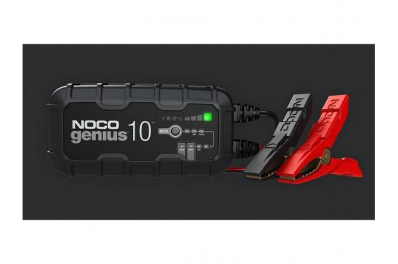 Chargeur de Batterie Moto Intelligent NOCO Genius 10 6-12V 10A