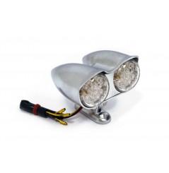 Double Feux Arrière à LEDS BULLET ALU
