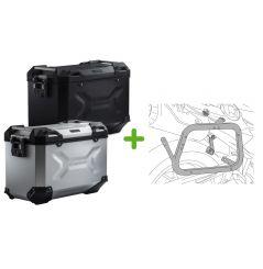 Kit Valises Latérales Trax ADV SW-Motech pour R 1200 GS (04-12), Adventure (06-13)