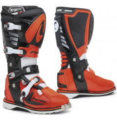 Bottes Moto Cross Forma PREDATOR 2.0 Noir - Orange - Blanc
