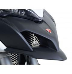 Protection de Radiateur d'Huile Inox R&G pour Multistrada 1200 GT (13-15)